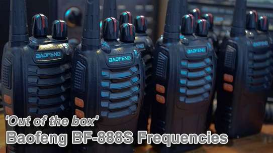 BaoFeng BF-888S Walkie Talkie 2pcs in One Box image 1
