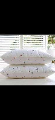 Generic set of 2 Bed pillows (pair-pure fibre filled) image 1