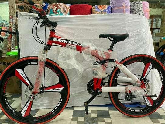 Red- black Begasso bike/bicycle