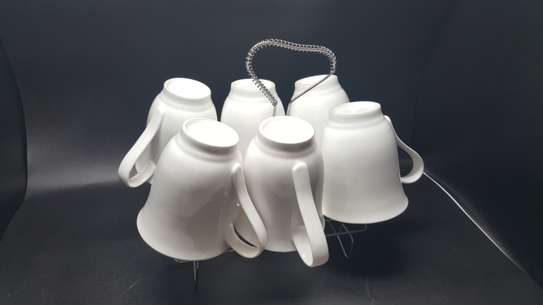6 Pc Oxford Porcelain Coffee image 2