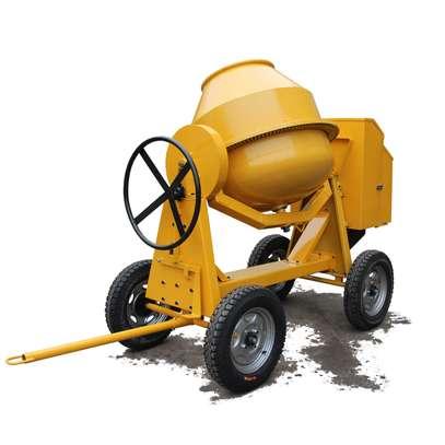 Concrete mixer 400l Diesel powered. image 3