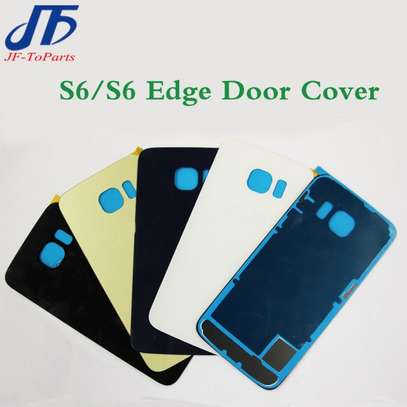 Battery Cover Replacement Back Door Housing Case For Samsung Galaxy S6 S6 Edge S6 Edge Plus image 3