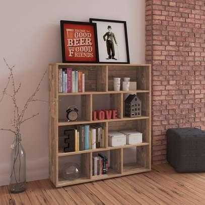 BOOK SHELF 3523 RUSTIC image 1
