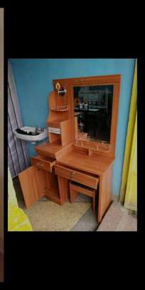 Dressing table Vanity table with pullout drawers B33A image 1