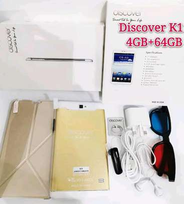 Discover K11, Tablet 7 Inch Dual Sim Android 8.1 64GB, 4GB DDR3, 4G, Wi-Fi, Dual Camera image 1