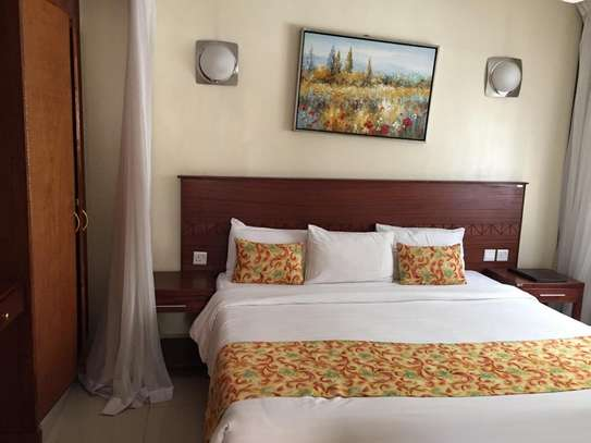 Furnished 1 bedroom apartment for rent in Rhapta Road image 11