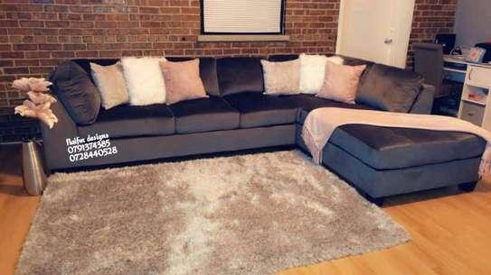 Modern Five seater sofas for sale in Nairobi Kenya/modern sofas/L shaped sofas image 1