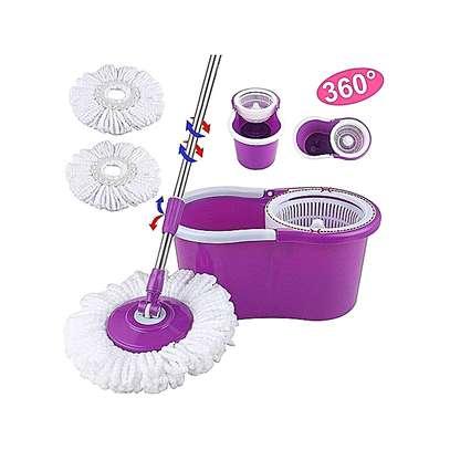 Magic spin mop – Purple. image 1