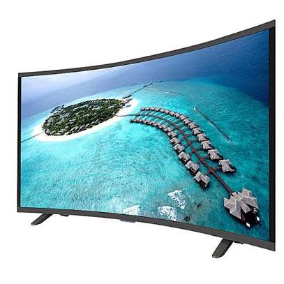 Vision 43 inches Curved Smart Digital Tvs image 1