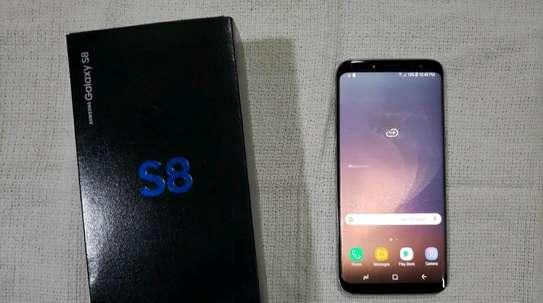 Samsung Galaxy S8 / 128 Gigabytes /  Gold And Wireless Galaxy Buds image 1