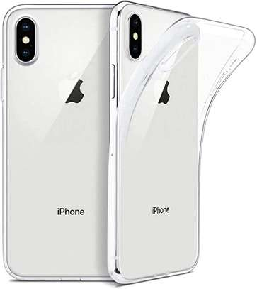 Clear TPU Soft Transparent case for iPhone X/Xs XR XS Max image 1