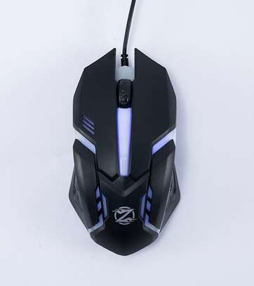 black gaming mouse image 1