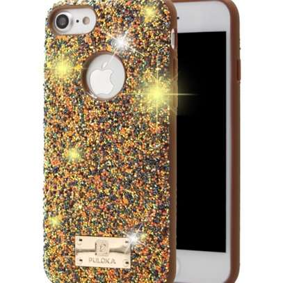 Puloka Glittering Luxurious Cases for iPhone 8,iPhone 8 plus image 4