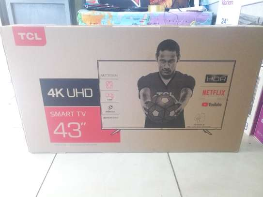 Tcl 43inches smart Android  4K tv image 1