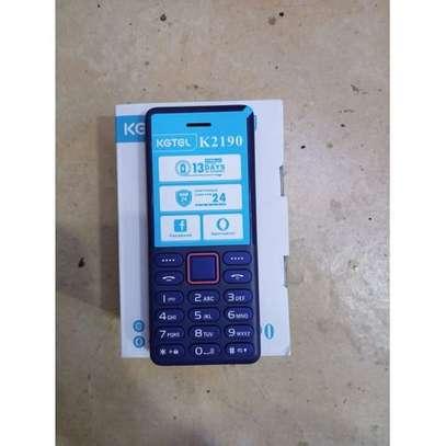Kgtel K2190 Wireless Fm Support- Dual Sim - Black KABAMBE image 1