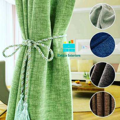 LINEN MATERIAL  CURTAINS image 1