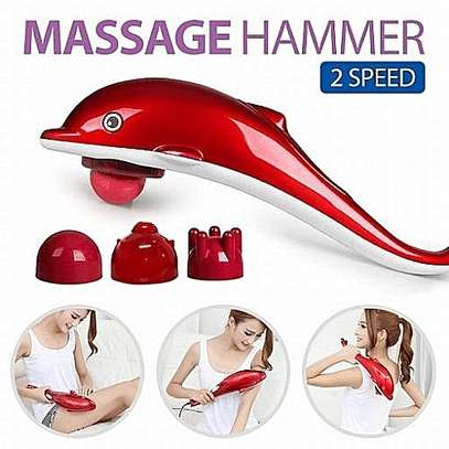 Dolphin Infrared Hammer Full body Massager With 3 Attachment Body Slimmer Excell image 3