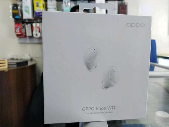 Oppo Enco W11 wireless Earphones brand new and sealed in a shop image 1