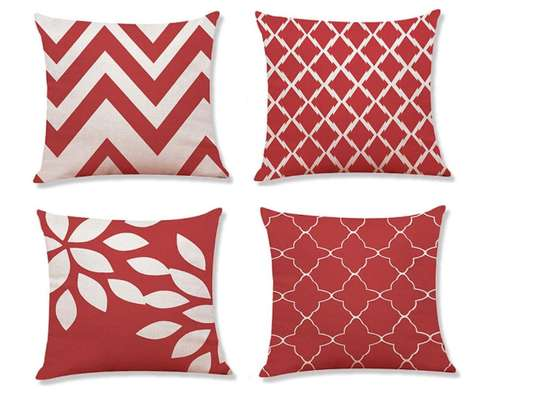 Decorative Unique Throw Pillow Case Cushion Covers a set of 4 pieces at Ksh. 3200 image 13
