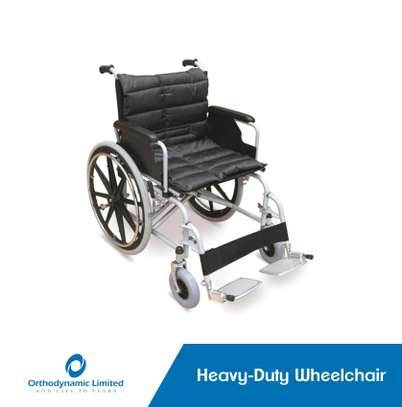Standard commode wheelchair image 5
