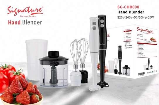 Signature hand mixer/stick blender/Hand blender image 1