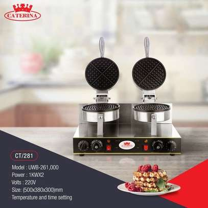 Caterina CT/281 Commercial Waffle Maker image 1