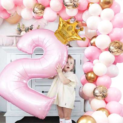 Balloon Arch Garland Decoration services for Baby ShowerWedding Birthday Graduation Anniversary image 2
