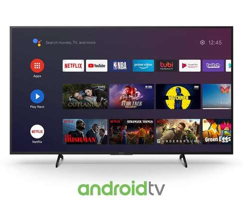 55 Inch Sony Ultra HD 4K Smart Android LED TV – KD-55X7500H image 1