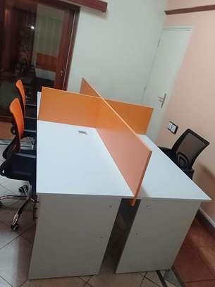 Office Desk 4 Way Workstation Station Ksh. 49,999 image 4