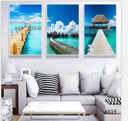 Ocean Canvas wall hanging image 1