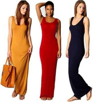 Vest dress maxi image 1