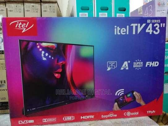 ITEL 43 INCH DIGITAL TV, BLACK, I-CAST FHD TV WITH ONE YR WARRANTY(Brand new from my shop) image 1