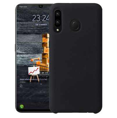 Silicone case with Soft Touch for Samsung M30 M20 M10 image 1