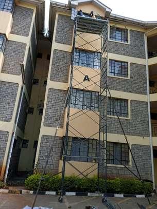 scaffolding ladders (ngazi)