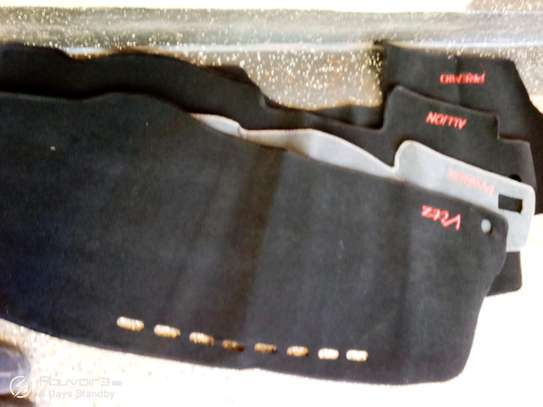 Car dashboard covers image 1
