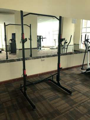 Weight training rack