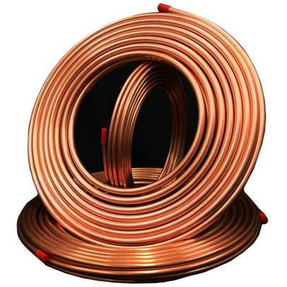 "Refrigeration Copper pipe 1/4"" image 1"