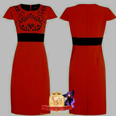 Laser Cut Bodycon Dresses image 2