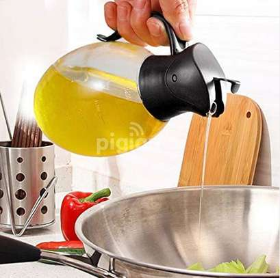 Auto Flip Jar 350ml For oil and all kitchen liquids image 1
