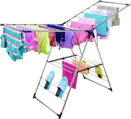 Portable fold-able drying rack