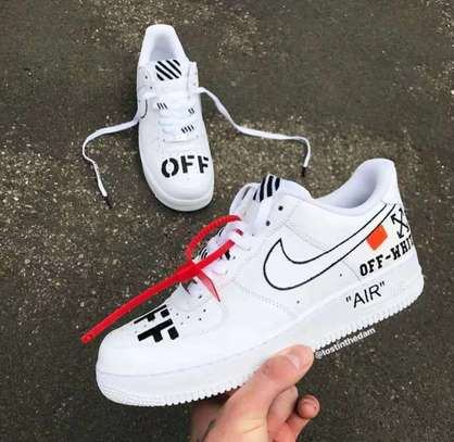 Nike Airforce One X Off White Sneakers