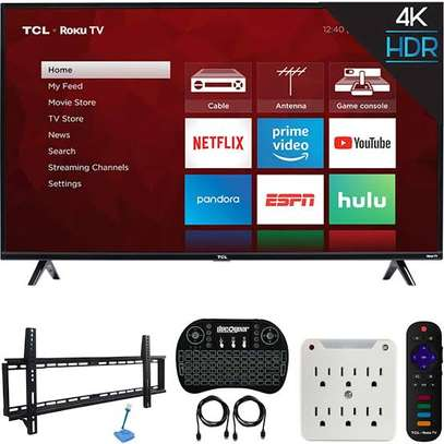 TCL 50 inches Android UHD-4K Smart Digital 50P617 image 1