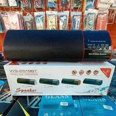 Wireless Bluetooth speaker Black WS-2519BT image 1