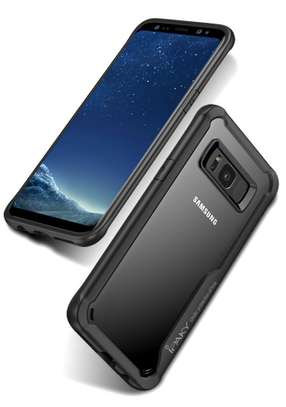 IPAKY Hybrid Shockproof Transparent Case for Samsung Note 8 image 4