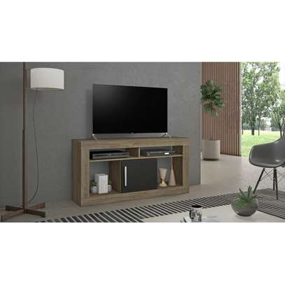 TV Stand Rack ( Notavel NT1040 ) - TV Space up to 43'' - Cinnamon / Black