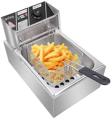 Single Electric Deep Fryers Available image 2