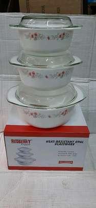 3pcs set casserole image 1