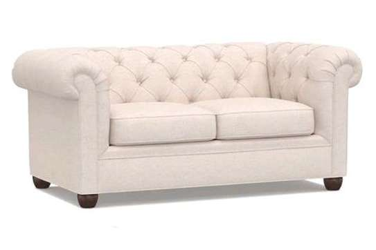 Elegant Classic Quality Chesterfield Loveseat image 1