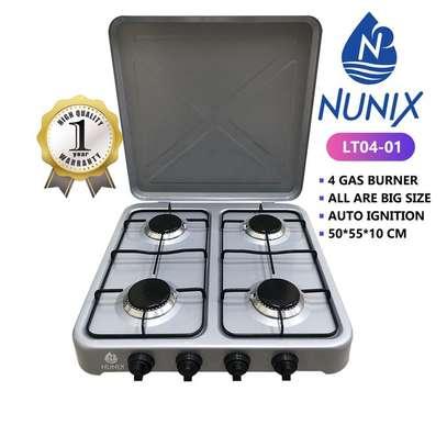 nunix cooker 4 gas burner image 1