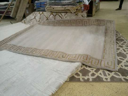 Turkish Non fluffy Carpets image 5